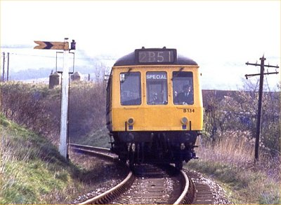 Class 121 on Bridport branch