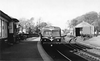 Bristol railbus at Beith