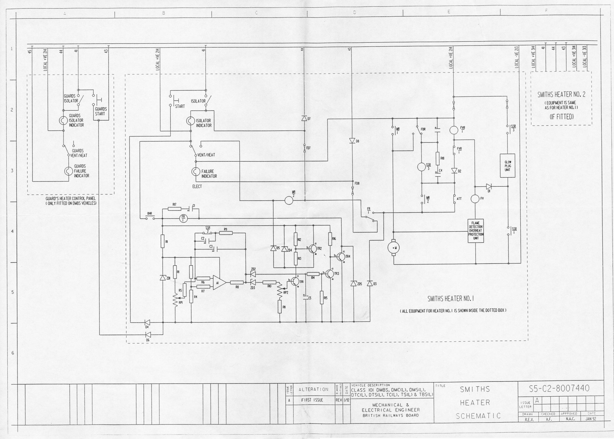 heaters schematic